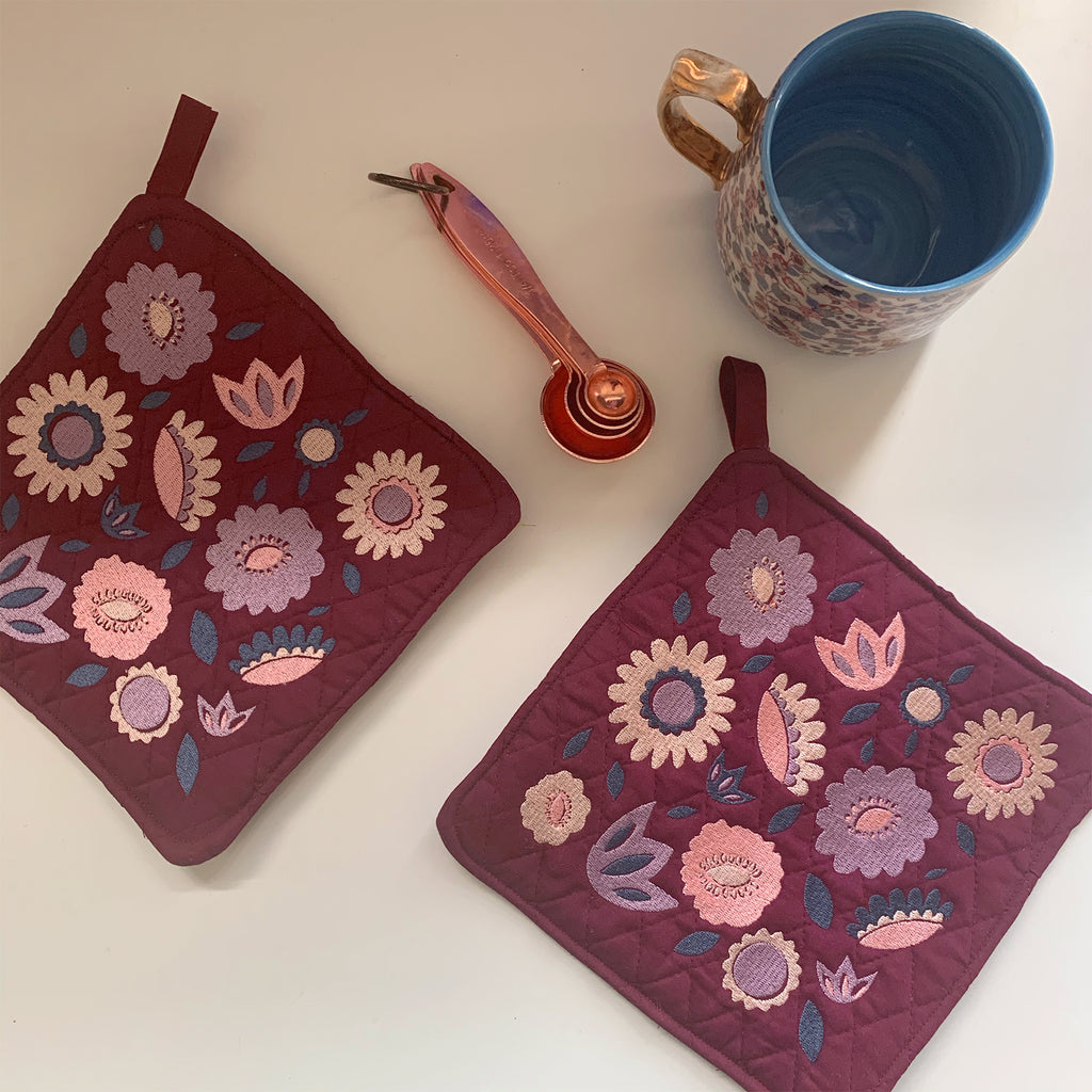 Pot Holder Set | Lavender Coloraway