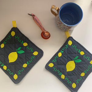 Pot Holder Set | Lemoncello