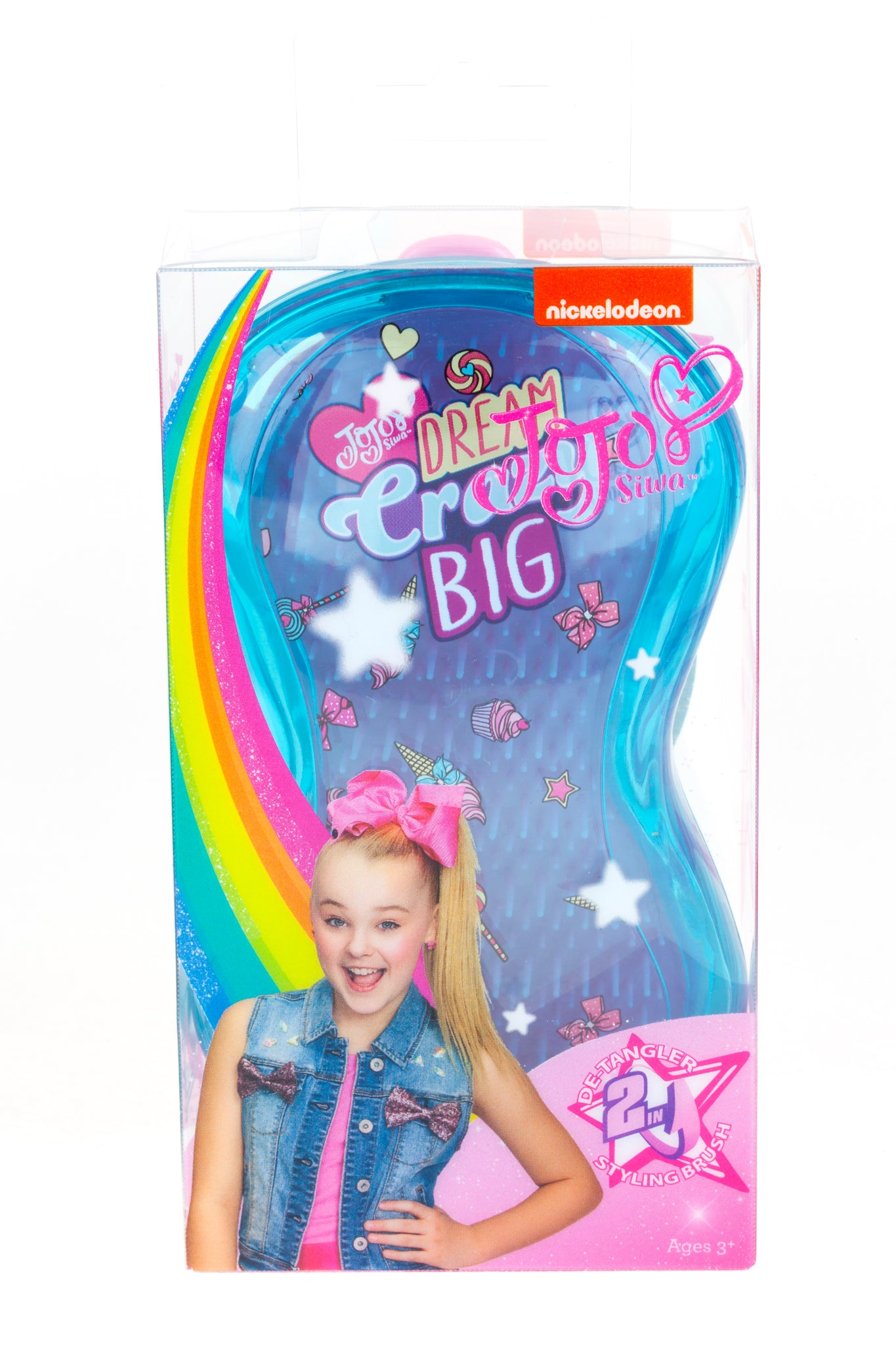 JoJo Siwa Hairbrush - Dream Crazy Big