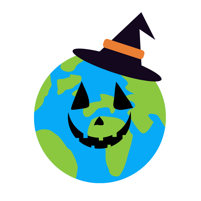 A spook-tastic, eco-friendly Hallowe'en!