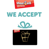 We accept One4All gift cards