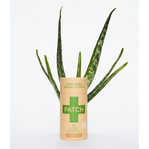 Patch biodegradable bamboo plasters - Aloe Vera