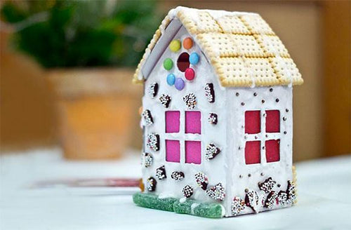 3D to-decorate Gingerbread House - jiminy eco-toys