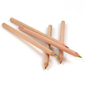 4-colour lead FSC-certified wooden pencil - jiminy eco-toys