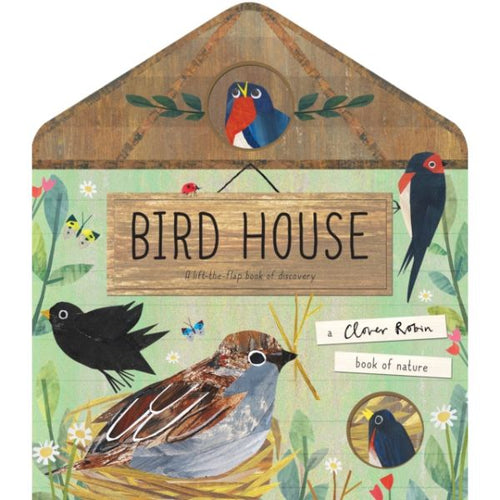 Bird House, a lift-the-flaps board book by Libby Walden MADE FAR AWAY WON'T REORDER