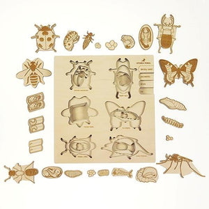 A Bug's Life 4-layer wooden puzzle by StukaPuka - jiminy eco-toys