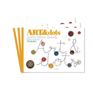 Activity book - Art and Join-the-Dots - jiminy eco-toys