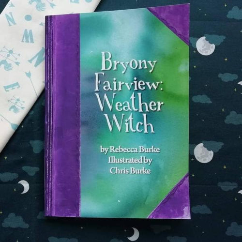 Bryony Fairview: Weather Witch (paperback book by Irish author Rebecca Burke) - jiminy eco-toys
