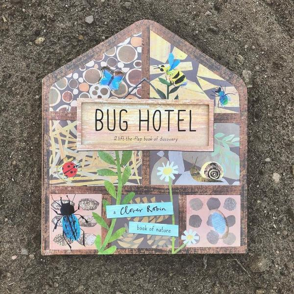 Bug Hotel, a lift-the-flaps board book by Libby Walden MADE FAR AWAY - jiminy eco-toys