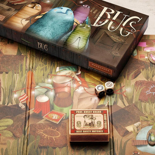 Bugs - a cooperation board game for 2-6 players age 4+ - jiminy eco-toys