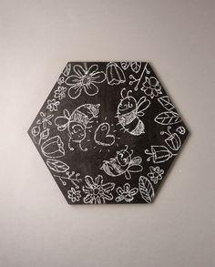 Chalkboard beehive-shapes Hardest Puzzle in the World (wooden) - jiminy eco-toys