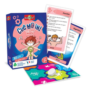 Cue me in - Human Body! A group guessing game for ages 7+ - jiminy eco-toys