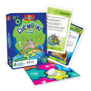 Cue me in - Our Planet! A group guessing game for ages 7+ - jiminy eco-toys