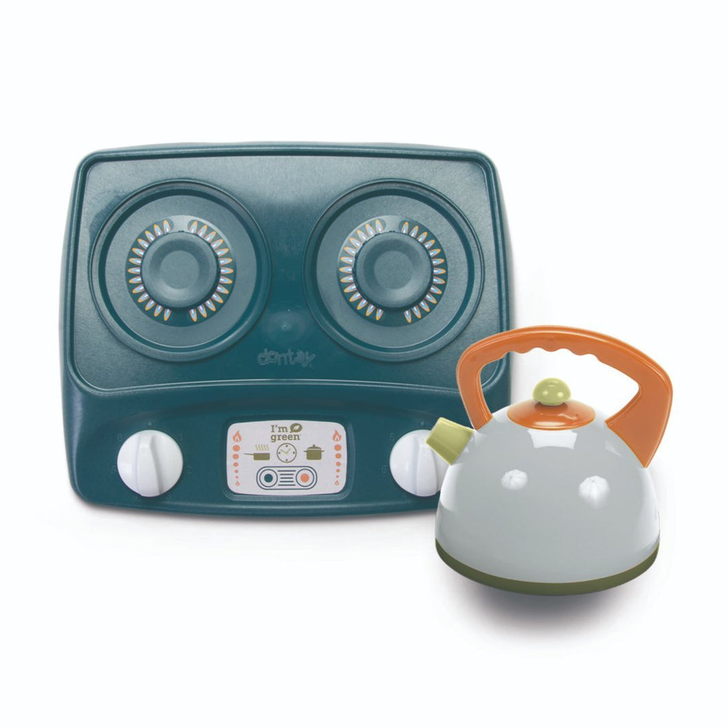 DanToy Bio Kettle and Stovetop Set - jiminy eco-toys