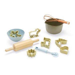 DanToy Bioplastic Baking / Play Dough Tools / Mud Kitchen Set in a Gift Box FOR DELIVERY EARLY DECEMBER - jiminy eco-toys