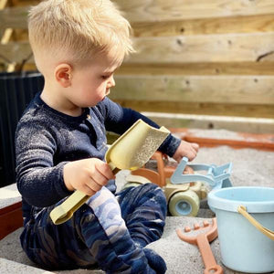 DanToy Bioplastic Bucket, Spade, Rake, and Watering Can Set - jiminy eco-toys