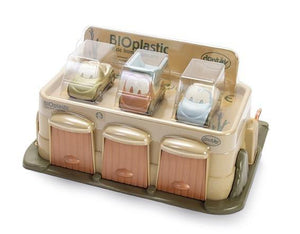 DanToy Bioplastic Garage With 3 Cars - FOR DELIVERY EARLY DECEMBER - jiminy eco-toys