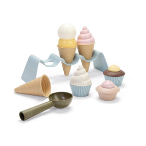 DanToy Bioplastic Ice Cream Set in a Gift Box - jiminy eco-toys