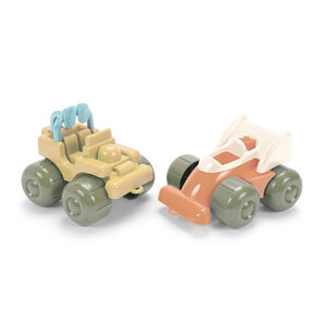 DanToy Bioplastic Race Cars - made from plants (bio-plastic) - jiminy eco-toys