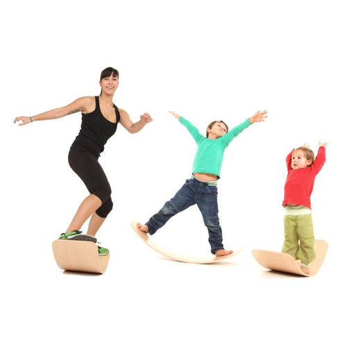 das.Brett bouncy wooden balance board (