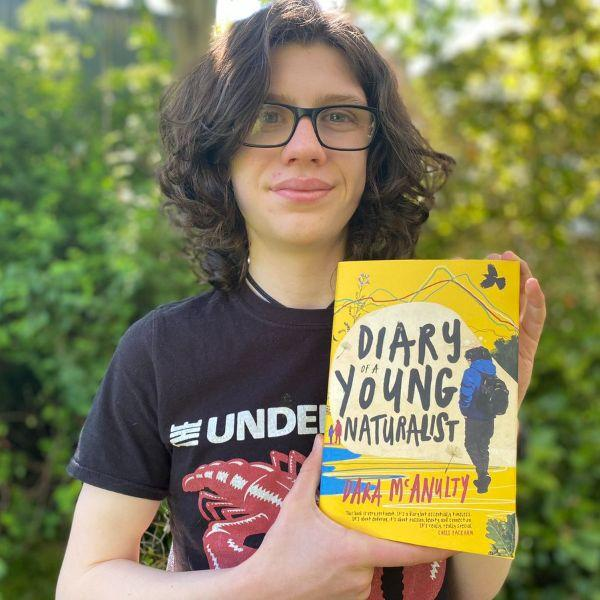 Diary of a Young Naturalist (a hardback book by Northern Ireland teenager Dara McAnulty) - jiminy eco-toys
