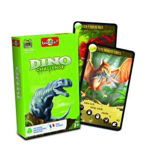 Dino Challenge - a group card game for ages 7+ - jiminy eco-toys