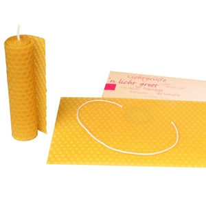 Dipam roll-a-candle in a silver star envelope - jiminy eco-toys