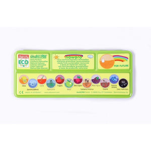 Eco-conscious watercolour paints 12 colours in tin case - and refills - jiminy eco-toys