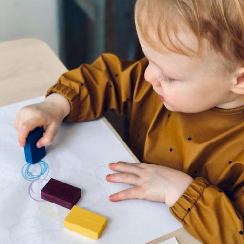 Eco-conscious wax colouring blocks - jiminy eco-toys