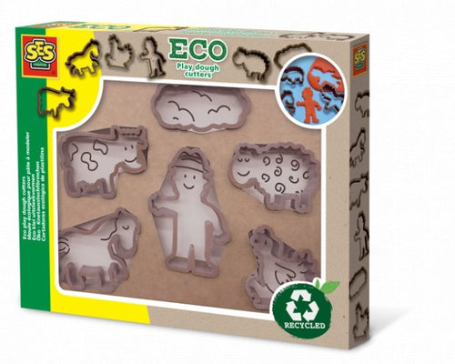 Eco play dough cutters - jiminy eco-toys