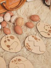 Load image into Gallery viewer, Eggs 2-layer wooden puzzle - jiminy eco-toys
