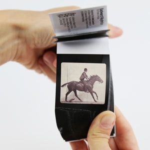 European-made flipbook: Eadweard Muybridge - jiminy eco-toys