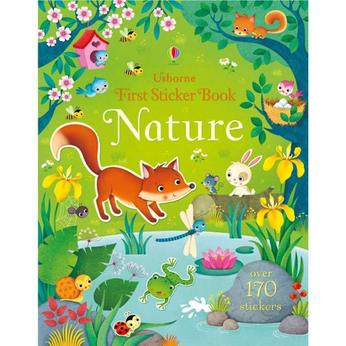 First Sticker Book Nature (a paperback book by Brooks, Felicity) - jiminy eco-toys