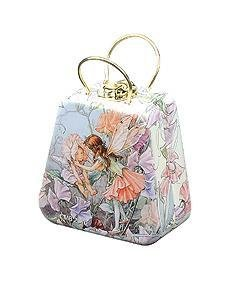 Flower Fairies Little Handbag Tin with 2 Miss Nella peel-off polishes - jiminy eco-toys