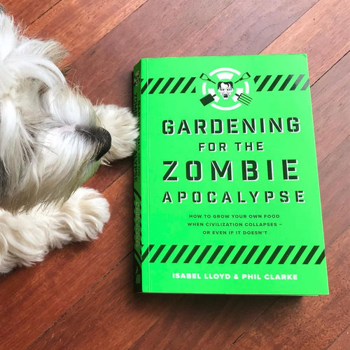 Gardening for the Zombie Apocalypse (a paperback book by Lloyd, Isabel) - jiminy eco-toys