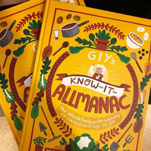 GIY's Know It All-Manac (hardback book by Mick Kelly founder of GIY and Fatti Burke) - jiminy eco-toys
