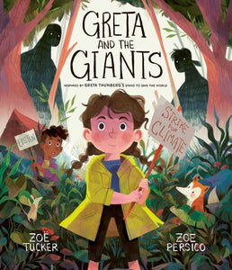 Greta and the Giants by Zoe Persico and Zoe Turner, paperback book - jiminy eco-toys