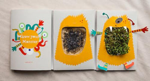Growing Greeting - Monster Cards! - jiminy eco-toys