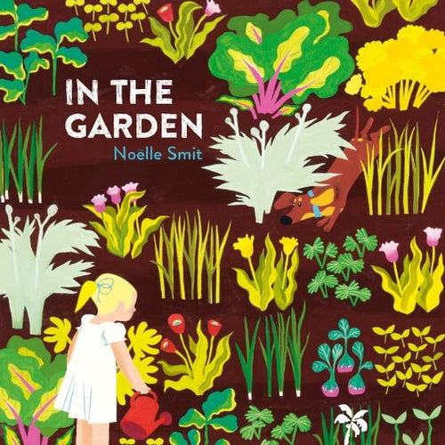 In the Garden (hardback book by Noelle Smit) - jiminy eco-toys