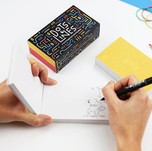 Interactive flipbooks x 2: Dots and Lines - jiminy eco-toys