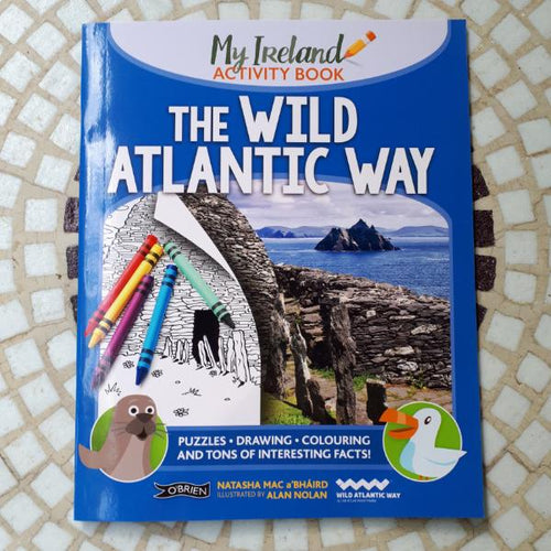 Ireland's Wild Atlantic Way - My Ireland Activity Book (by Natasha Mac a'Bháird and Alan Nolan) - jiminy eco-toys