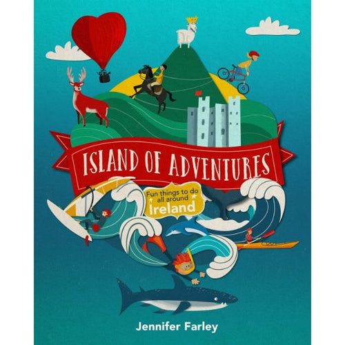 Island of Adventures (hardback book by Jennifer Farley) - jiminy eco-toys