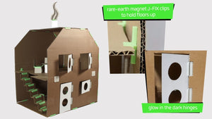 Junko! Buildings and shapes from junk! - jiminy eco-toys