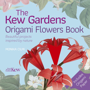 Kew Gardens Origami Flowers Book (a paperback book by Cilmi, Monika) - jiminy eco-toys