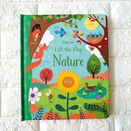 Lift-the-Flap Nature (board book by Jessica Greenwell) MADE FAR AWAY - jiminy eco-toys