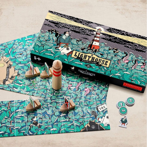 Lighthouse Adventure - a board game for 2-4 players ages 5+