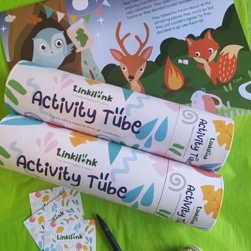 Linkilonk Activity Tubes - made in Ireland - jiminy eco-toys