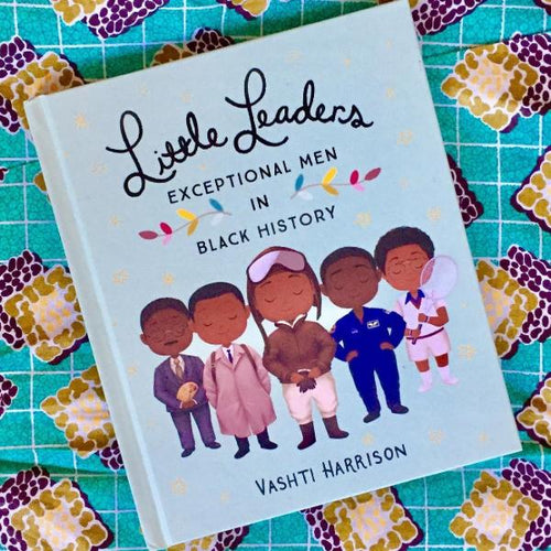 Little Leaders: Exceptional Men in Black History (a paperback book by Vashti Harrison) - jiminy eco-toys