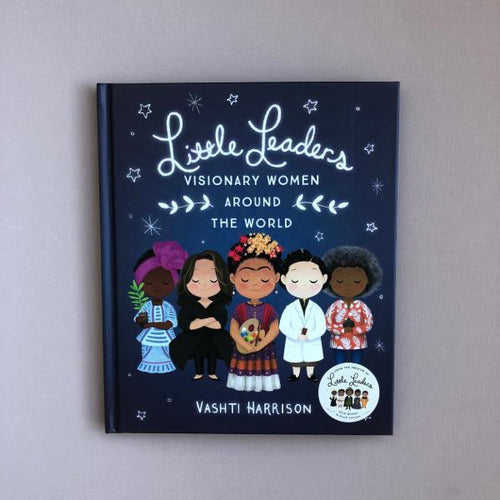 Little Leaders: Visionary Women Around the World (a paperback book by Vashti Harrison) - jiminy eco-toys