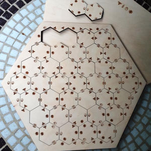 Match the bees' wooden puzzle - jiminy eco-toys